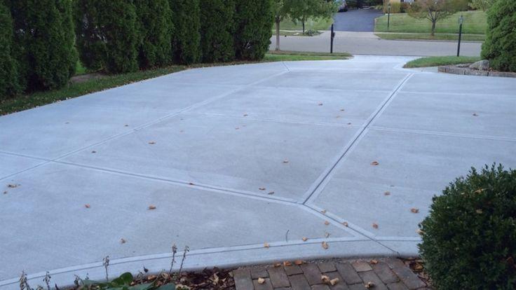25 best ideas about driveway repair on pinterest diy for Pouring concrete driveway