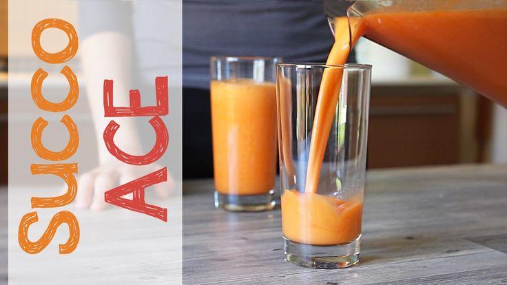 Succo di frutta ACE fatto in casa - Arancia Carota e Limone