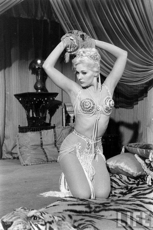 Kim Novak in 'Son of Sinbad', 1955.