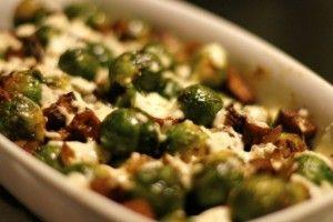 Spruitjes met ketjap, tofu en mozzarella