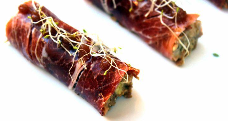 Rollitos de jamón para la Cena de Nochevieja 1