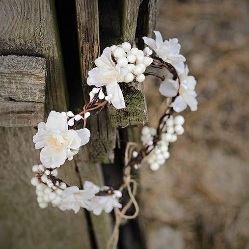 Kvetinový venček pre vílu od Magaely (www.sashe.sk/Magaela)
