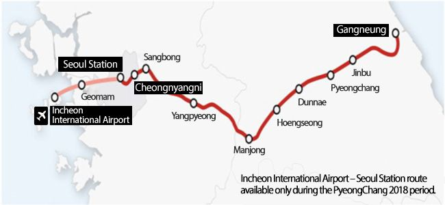 KTX to Run on Gyeonggang Line Starting December 22 | Official Korea Tourism Organization