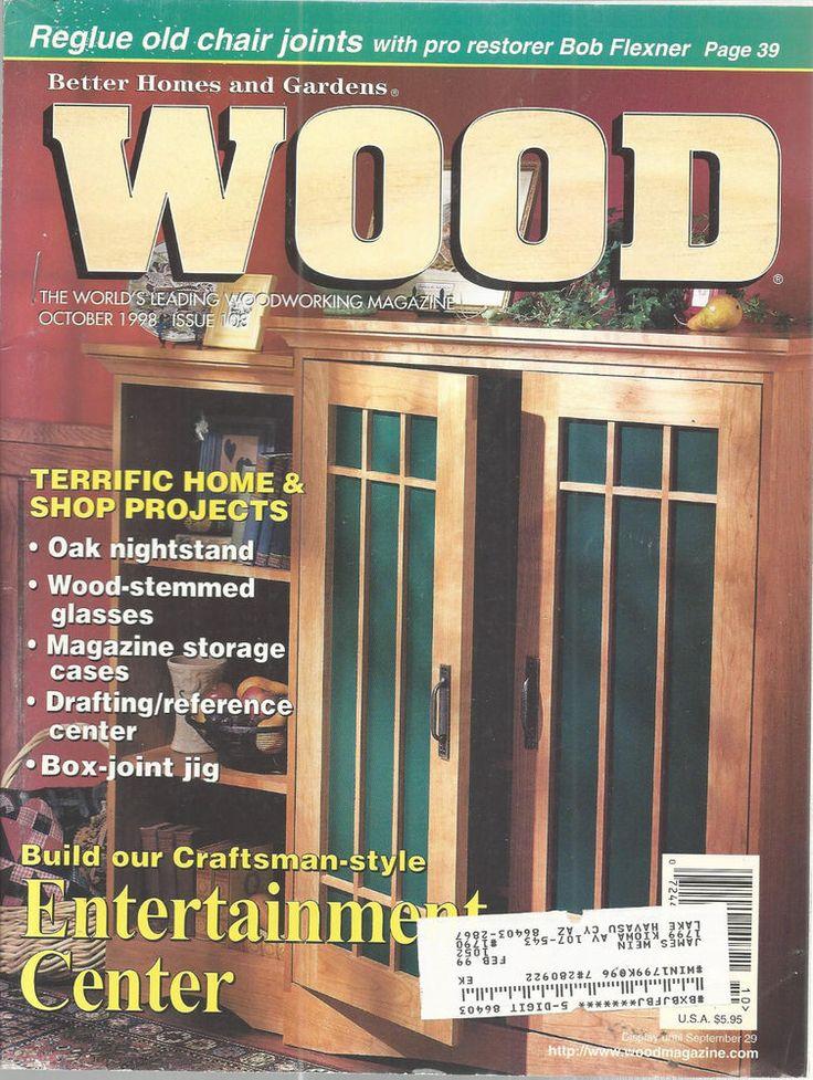 Best Wood Entertainment Center Ideas On Pinterest Farm House - Better homes and gardens wood magazine