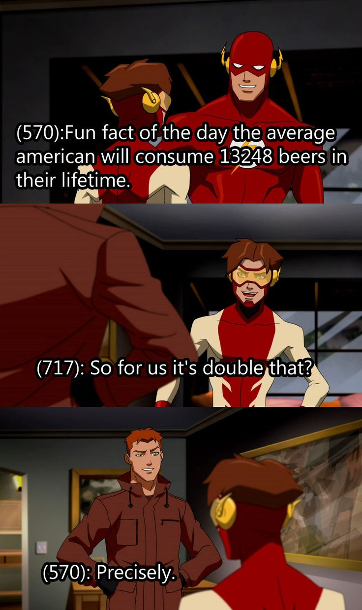 Funny Text from Young Justice