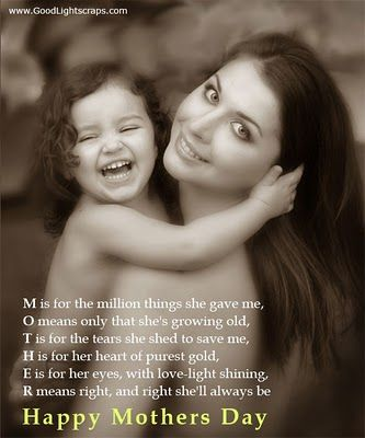 Mother Poems From Daughters | Poems from Daughter to Mother: