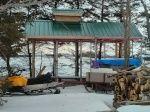 Construction cabane a sucre