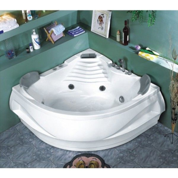 Omega Corner Jacuzzi Bath | Best value jacuzzi baths in IrelandThe Jacuzzis are made from a high grade acrylic and come complete with stainless steel frame. Flexishower and Pop-Up waste come as standard. Optional extras include air jets, heater, O3 self-cleaning system, light, digital control panel, radio,    3 year warranty comes as standard.