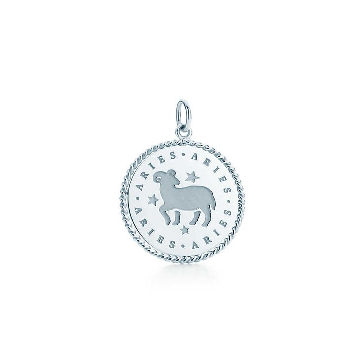 Zodiac charm in sterling silver. All signs available. | Tiffany & Co.