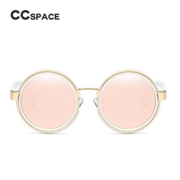 #SUNGLASSES #NEW CCSPACE Retro Classic Round Metal Sunglasses Men Women Brand Designer Glasses Fashion Eyewear Shades UV Protection 45187