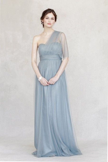 Jenny yoo annabelle in mayan blue wedding bridesmaids for Wedding dress resale st louis