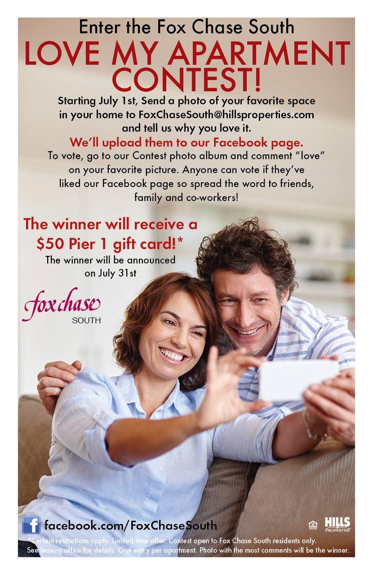 Love My Apartment Facebook contest