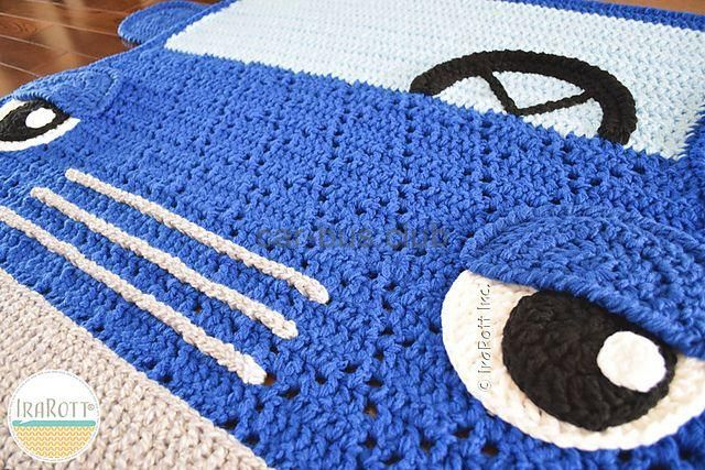 Ravelry Jimmy The Hybrid Automobile Rug Sample By Ira Rott Bus Automotive Automobiles We Re Within The Automotive Cl Rug Pattern Crochet Car Hybrid Car
