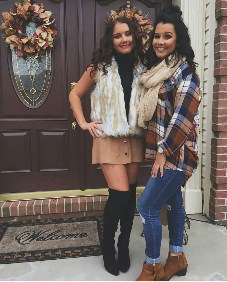 Megan and Mackenzie on Thanksgiving | Clothing/shoes ...