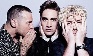 Busted's Matt Willis, 32, James Bourne, 32, and Charlie Simpson, 30, spoke to photographer Rankin's Hunger magazine. The trio have reformed and announced plans for a 2016 tour.