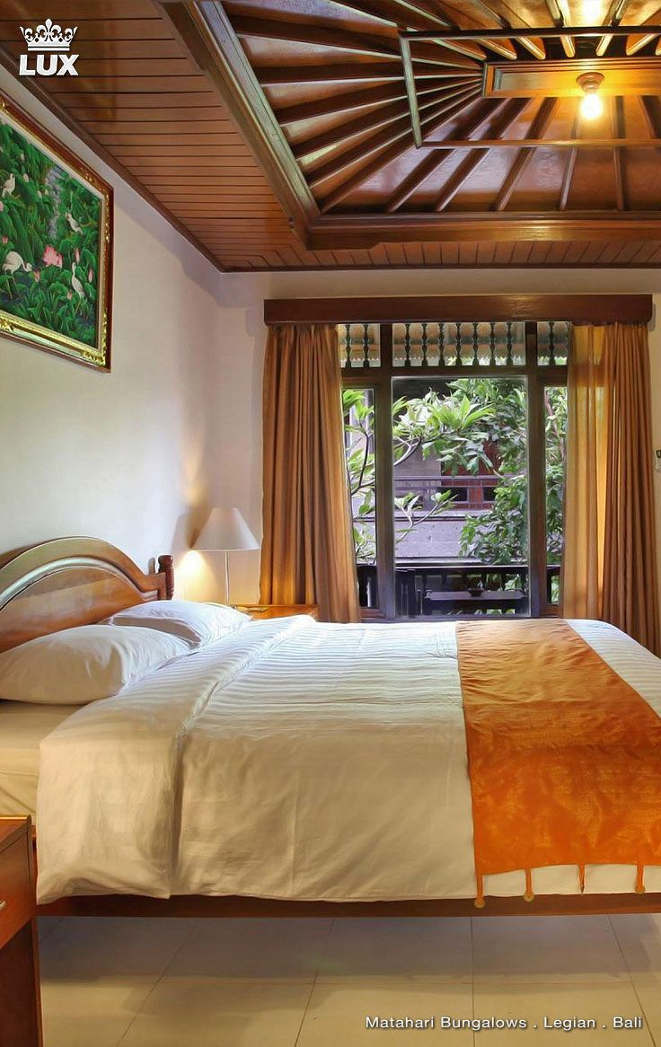 Hidden away by the sea, surrounded by lush green tropical garden, exotic plants and flowers is MATAHARI BUNGALOW. Matahari Bungalow Bali is one of Legian Hotel provides accommodation near Kuta Beach Bali. In front of the hotel is full of restaurant and many shops. #bali #bungalow #legian #mataharibungalow