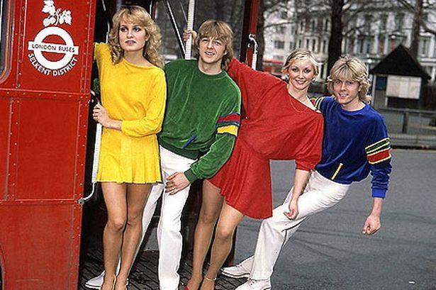 #Eurovision: Bucks Fizz: Hanging around: The band shot to stardom in 1981