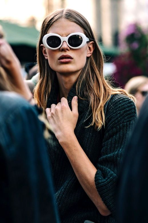 Thanks to designers like Acne and Saint Laurent, white sunglasses are having a major moment. From retro cat-eye shades to Kurt Cobain-inspired options, we've found the coolest ones to shop now.