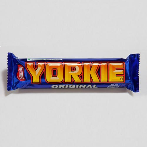 One of my favorite discoveries at WorldMarket.com: Nestle Yorkie Chocolate Bar