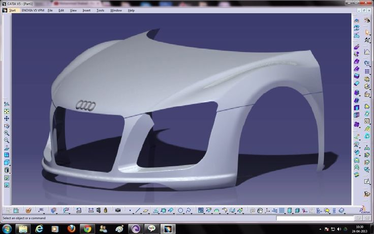 Catia V5 Tutorials|Wireframe and Surface Design|Multi Section Surface|3 ...