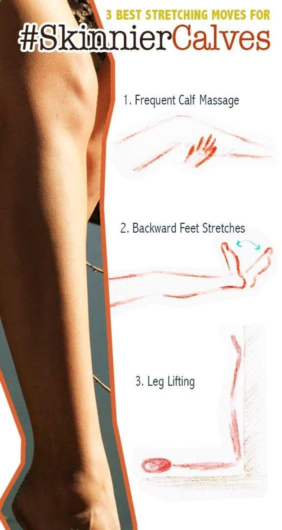 Excersices For Legs At Home and At The Gym - How to Slim Calves FAST - I have always had large calves to the point its difficult to find boots to fit. Ive never been able to find rain boots and only a couple knee high boots. Worth a try... ~Leah - Strengthening our legs is an exercise that we are going to make profitable from the beginning and, therefore, we must include it in our weekly training routine