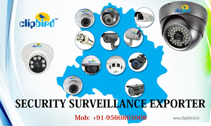 Clipbird can offer you tailored and customized security surveillance products as per your need and budget. They have created a professional system for everyone's needs.  The security service of Clipbird is all inclusive. They are the best CCTV dealers in Delhi NCR with an expert team of skilled professionals for instalment and after sale service. Clipbird also deals with various other security surveillance products like spy cameras, IP cameras and high speed dome cameras…