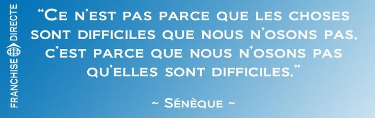 Citation de Sénèque #citation #motivation
