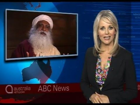 Sadhguru interviewed on ABC News
