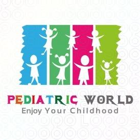 Pediatric World Logo.