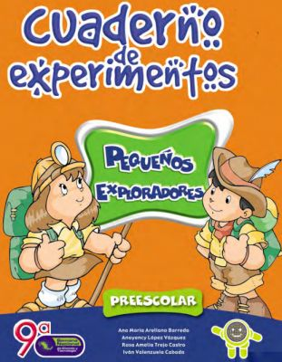 Cuaderno de experimentos infantil  pequeños  exploradores