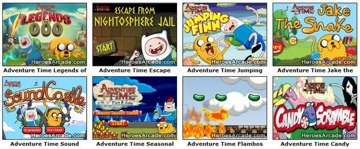 Play Adventure Time Games online at HeroesArcade.com
