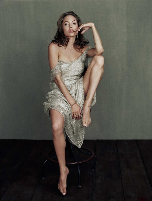 Angelina Jolie Photographed by Yariv Milchan