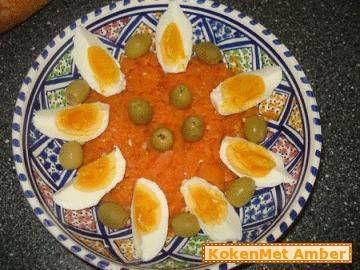 Tunesische wortelsalade