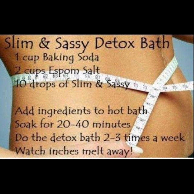 a detox bath, or do a body wrap.