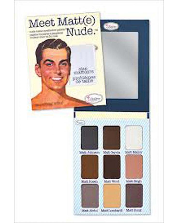Meet Matt(e) Nude -  Παλέτα Σκιών by The Balm