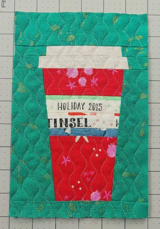 That Red Cup - free quilting pattern + 14 more that make great gifts!!