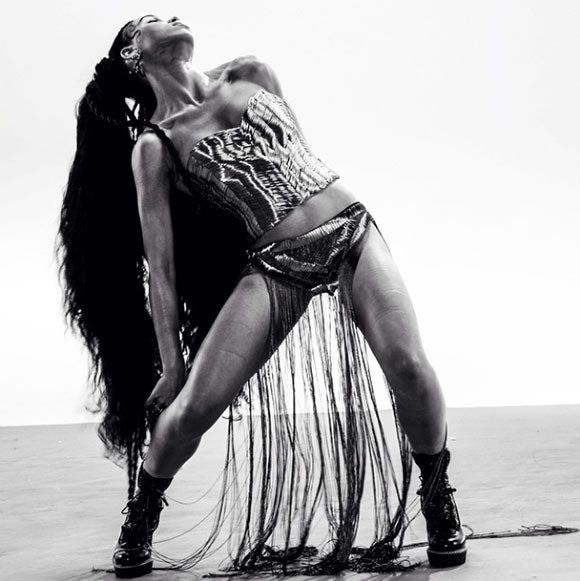 FKA Twigs - studied dance for 8 years, still practices ballet every day