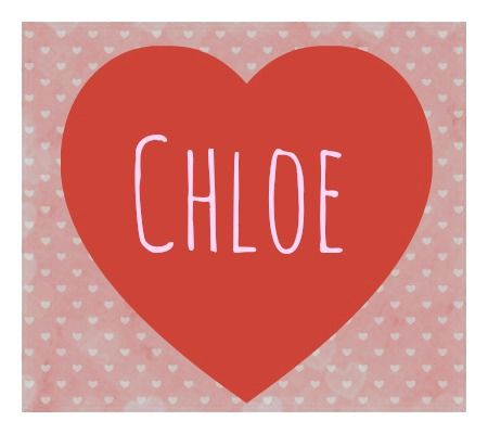 the name chloe   30+ Romantic Baby Names, in Honor of Valentine's Day