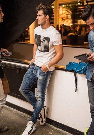 Tシャツ、カットソーの着こなし・コーディネート一覧【メンズ】 | Italy Web - Part 2