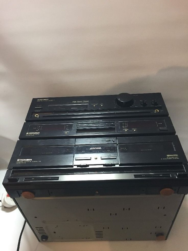 PIONEER STEREO DOUBLE CASSETTE DECK AMPLIFIER DC-Z83+graphic Eq Outstanding in Sound & Vision, Home Audio & HiFi Separates, Cassette/Tape Players   eBay!