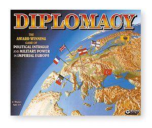 10 best board games: Diplomacy.