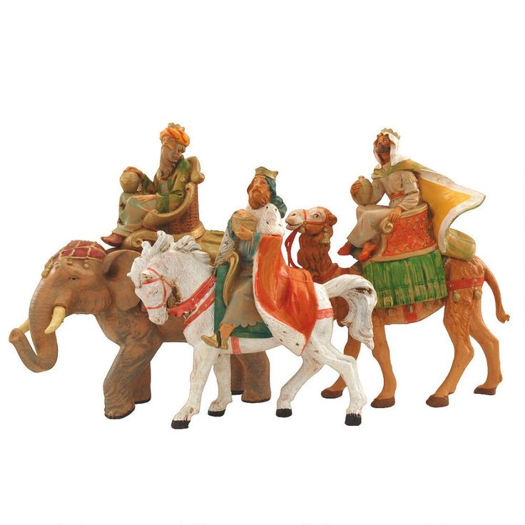 Three Kings On Animals For 5 Inch Collection