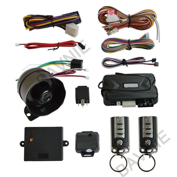 Spy Universal One Way Remote Engine Start Car Alarm System