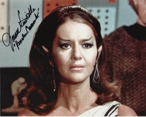 Star Trek OS Joanne Linville Romulan Commander hand-signed 8 x 10 photo C of A @ niftywarehouse.com #NiftyWarehouse #StarTrek #Trekkie #Geek #Nerd #Products