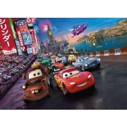 Fotobehang Cars Race - Kinderkamer | Fotobehangen.nl  58.50