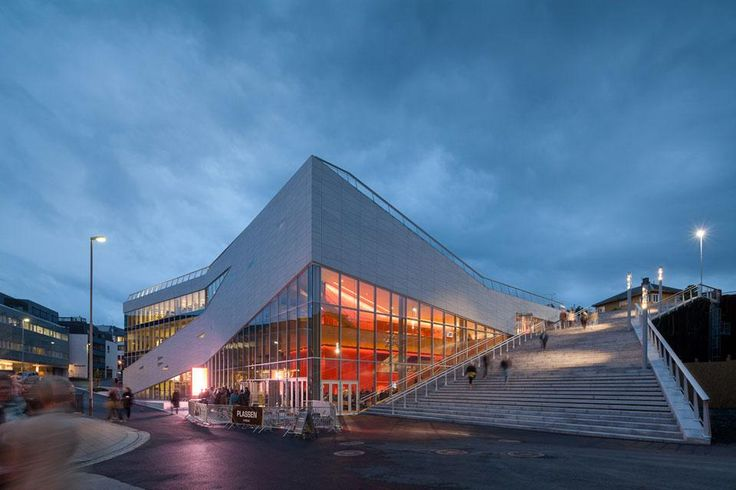 3XN: Plassen Cultural Centre