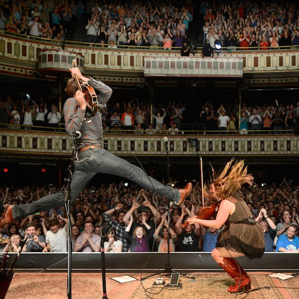 Nickel Creek. Photo by Perry Julien Photography.  The closest to Rock 'n' Roll that bluegrass will ever get.