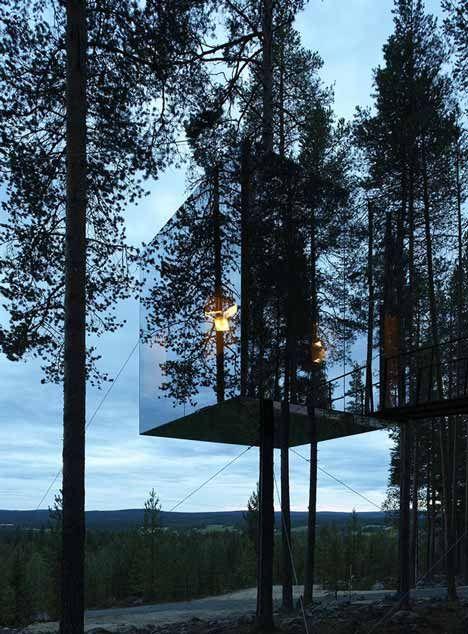 Tree Hotel by Tham Videgard architects