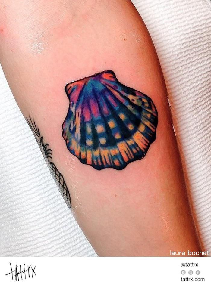 394 best images about beautiful ink on pinterest manta for Seashell tattoo meaning