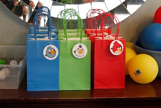 Angry birds goody bags